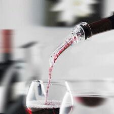 Red Wine Bottle Aerator Decanter Aerating Pourer Spout Bar Accessory Set New LA