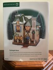 """Dept. 56 Christmas in the City """"Gardengate House"""" New!"""