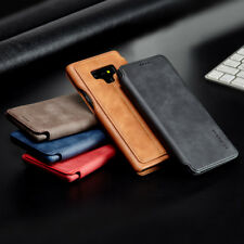 For Samsung Galaxy Note 9 8 S9 S8 Plus Flip Leather Card Slots Wallet Case Cover