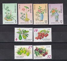taiwan 2002,flower,two sets MNH,flower  ,fruits..        h450