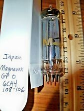Strong Magnavox Gray Plate O Getter 6CA4 / EZ81 Tube