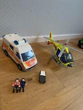 Playmobiö Krankenwagen Und Rettungshubschrauber