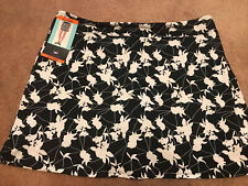 Women's 2Xl Shadow Flowers Tranquility By Colorado Clothing Skort Athletic Nwt