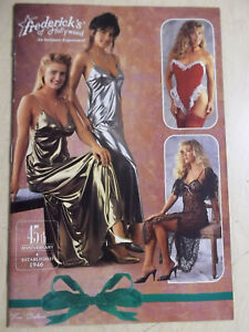 Frederick's of Hollywood 1991 version 1800 Vol. 75 #368 sexy cover