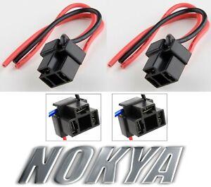 Nokya Wire Harness Pigtail Female 9003 HB2 H4 Nok9101 Head Light Bulb Plug Dual