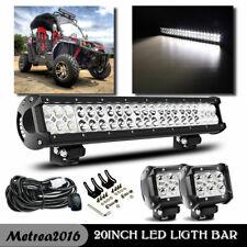 "FIT Subaru Impreza forester 22"" 126W LED Light Bull Bar Bumper W/ Wrring Kit"
