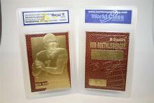 BEN ROETHLISBERGER Feel The Game Gold Card GEM MINT 10 Football Textured *BOGO*
