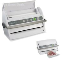FoodSaver V3240 Vertical Double-wide Sealing Vacuum Sealer (White) - New