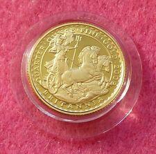 2009 Oro Britannia £ 25 1/4 Oz prueba moneda Caja Y Certificado De Autenticidad