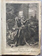 Antik Buch Corpus Iuris Civilis Romani Gesetz Jurist Lipsia 1740 Gothofredi Rar