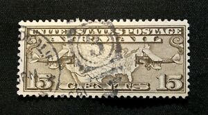 US Stamp Scott #C8 ~ U.S. Map and Mail Planes 1926 Airmail Used GR06