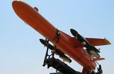 Mirach-100-5 Target Drone Galileo Avionica Mahogany Wood Model Small New