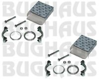 2 For VW Beetle Karmann Super Beetle Exhaust Tail Pipe Mounting Kit 111298051