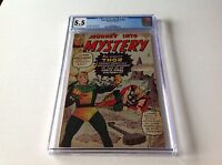 JOURNEY INTO MYSTERY 92 CGC 5.5 OFF WHITE PGS LOKI STEALS THORS HAMMER THOR
