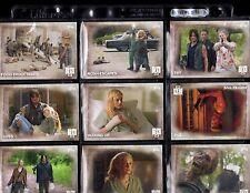 Topps The Walking Dead season 5 complete Base Set +WRAPER