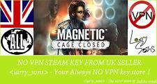 """Magnétique: cage fermée collecteur """"Edition Steam Key aucun VPN region free Vendeur Britannique"""