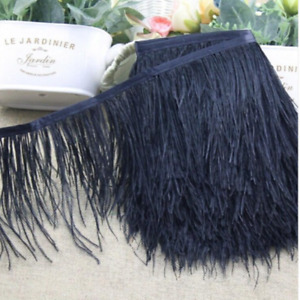 Wholesale! 1/5/10 yard 10-15cm Ostrich Feather Dance festival party Clothing