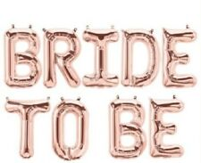 Party : Bride to Be Letter Balloon Party Decor Set