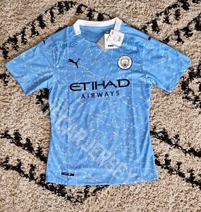 Maillot Jersey Manchester City Home 2021 Puma DryCell Football Player Version