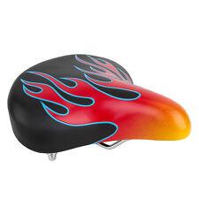 "SUNLITE CLASSIC FLAMES FLAME CRUISER BIKE BICYCLE SADDLE 10"" X 10"" NEW"