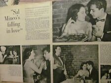 Sal Mineo, Three Page Vintage Clipping