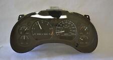 2000 GMC Envoy Speedometer Instrument Cluster Dash Panel Gauges