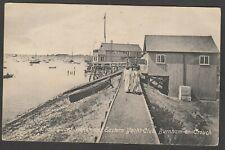 Postcard Burnham on Crouch nr Southend on Sea Essex the Coast Guard Station