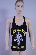 Gold Gym Vest Stringer Tank Top Singlet Racer Back