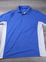 Nike Golf Tour Performance Dri-Fit Men's Blue Polo Men's Size XL