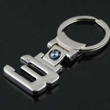 For BMW 3 Series Metal Logo Keychain Key Ring Car Logo Pendant Key Fob Holder