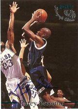 Petey Sessoms 1995 Old Dominion Classic Autograph Rookie Card Auto