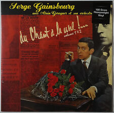 SERGE GAINSBOURG-tu chant á la une! Volume 1 & 2 LP 180 g Vinyle NEUF/SEALED