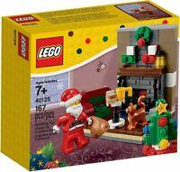 LEGO® SEASONAL 40125 Besuch des Weihnachtsmanns NEU / OVP