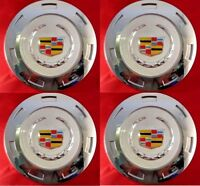 "4pcs. 2007-2014 CADILLAC ESCALADE COLORED CREST 22"" WHEEL CENTER CAP 9596649"