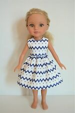 """Handmade Doll Clothes Dress fits 14"""" Hearts for Hearts H4H G2G Dolls Handcraft I"""