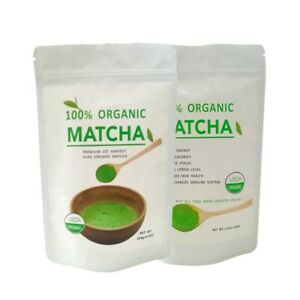 Organic Matcha Green Tea Powder 100% Pure Natural Premium Grade UK Seller 100g