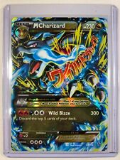 Mega Charizard EX 69/106 XY Flashfire Holo Ultra Rare Pokemon Card near MINT