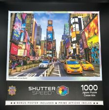 MasterPieces Shutter Speed Times Square Jigsaw Puzzle 1000 Piece Buildings Cars