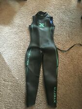 New listing XTERRA Vortex Women's Sleeveless Wetsuit - Medium, Black/Green