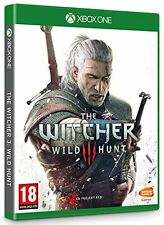 Pal version Microsoft Xbox One Witcher 3 Wild Hunt