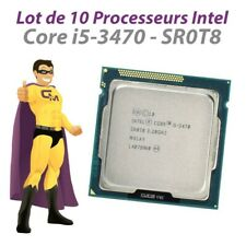 Lot x10 Processors CPU INTEL Core I5-3470 SR0T8 3.2Ghz 6Mo 5GT/S FCLGA1155