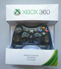 Wireless Video Game Controller for Microsoft Xbox 360 Black New Us Stock