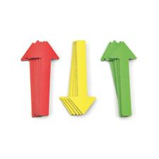 Magnetpfeile zur Schadensmarkierung Rot Gelb Grün - für Sachverständige