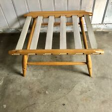 Ercol Footstool Model 443 Requires Cushion Blonde Wood Tone