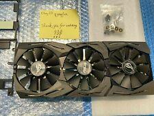 ASUS GTX 1080TI heatsink with fans (Brand new)