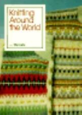 Knitting Around the World (Threads On)-ExLibrary
