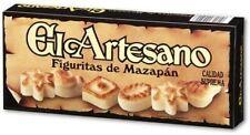 2x100g EL ARTESANO Supreme Quality Spanish Marzipan Figures (Vegan)