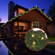 vidaXL 242424 Ghirlanda Natalizia con Luci LED 10m - Verde