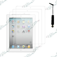 3x Pellicole protettive scudo mini stilo ipad 2 3 4 Nuovo ipad Retina