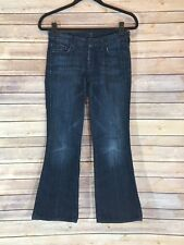 """7 for all Mankind Women's The Lexie Petite """"A"""" Pocket Jeans Size 24"""